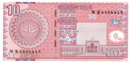 Bangladesz - 10 taka (2010)