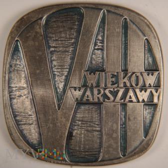 1964 - 1-64 Sr - VII wieków Warszawy