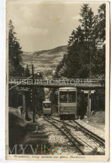 Krynica - Kolejka na Górę Parkową- 1956