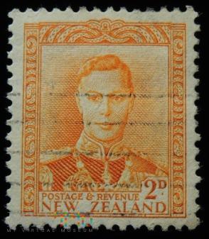 Nowa Zelandia 2d Jerzy VI