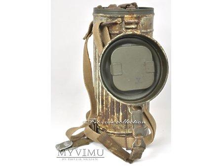 gasmaske gm30 - wintertarnung