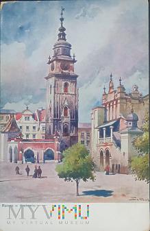 Ratusz w Krakowie.