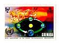 Grenada - rydwan słońca - 100 lat WMO