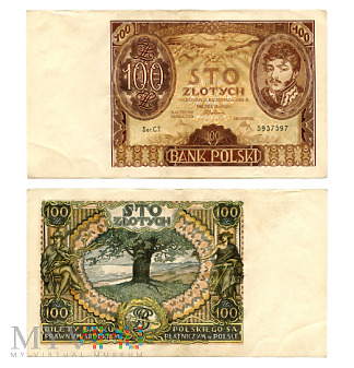 Duże zdjęcie 100 złotych 1934 (C.T. 5937597)