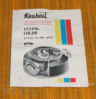 Janpol Color folder reklamowy