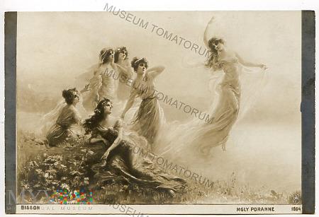 Bisson - Taniec nimf - pocz. XX wieku