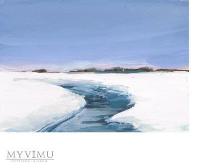 Miniatura - Pejzaż zimowy