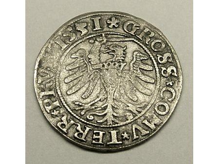 Grosz Toruński- 1531 r