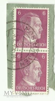 2 x 6 pfennig DEUTSCHES REICH Mohrungen