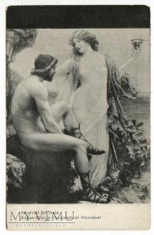 Jan Styka - Odyseusz i Kalypso