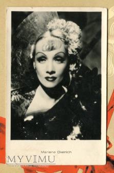 Marlene Dietrich Łotwa Pocztówka IRA RIGA Latvia