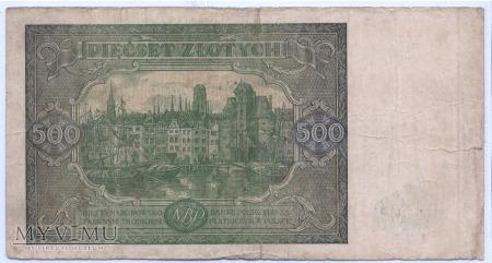 500 złotych - 1946.