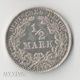 1/2 MARK 1913 D