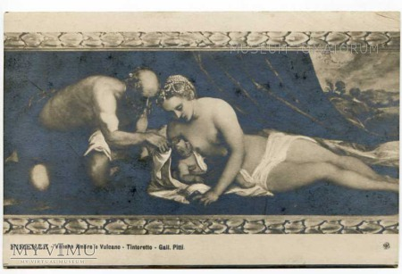 Tintoretto - Macierzyństwo antyczne