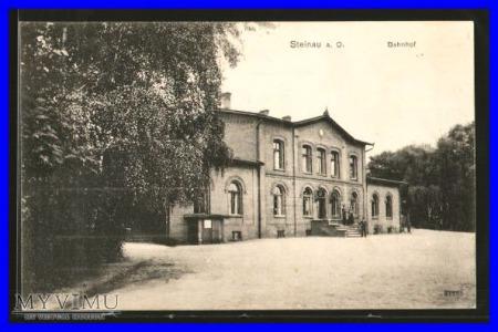 ŚCINAWA Steinau Dworzec kolejowy