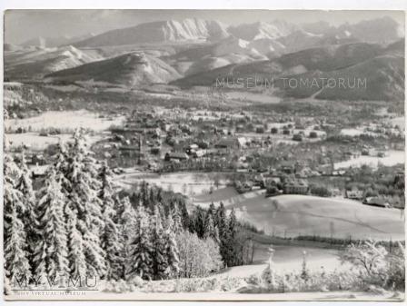 Zakopane 1961 - Widok ogólny