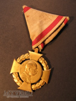 JUBILÄUMSKREUZ 1908 - wersja militarna