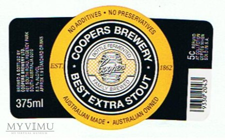 coopers best extra stout