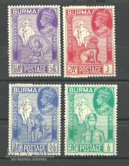 Burma Postage