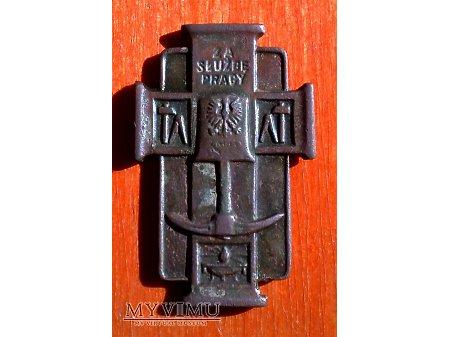Odznaka honorowa JHP