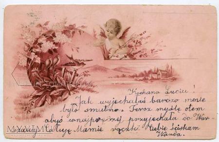 Pocztówka artystyczna 1900