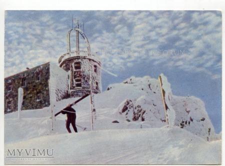 Tatry Kasprowy Wierch - obserwatorium - lata 60-te