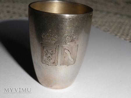 Herb Szreniawa- kieliszek srebro