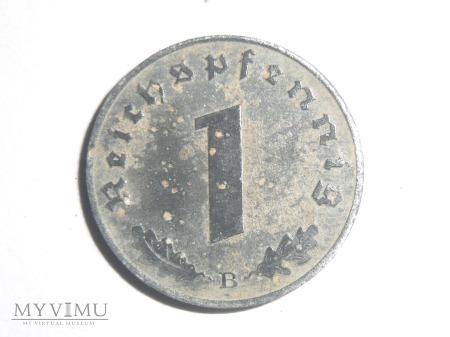 1 pfennig 1944 B