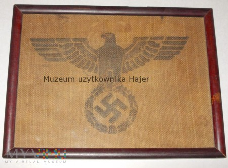 Duże zdjęcie Obraz Gapa Swastyka Worek pocztowy WWII