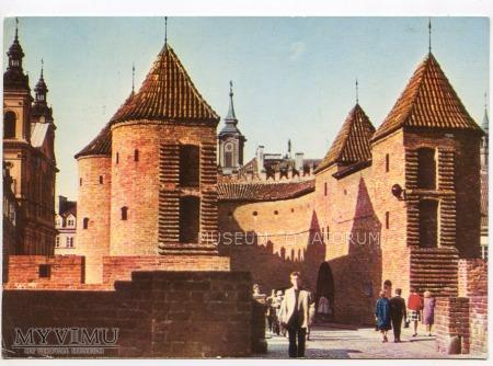 W-wa - Stare Miasto - Barbakan - 1970