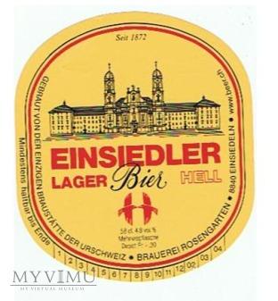 einsiedler lager bier hell