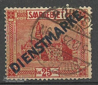 Dienstmarke Saar I