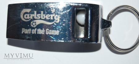 Brelok gwizdek Carlsberg