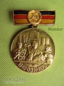 Medal 30 lecia NRD