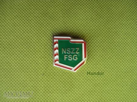 Odznaka NSZZ FSG
