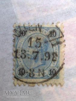 Franz-Joseph 1890 10 Krajcar austro-węgierski