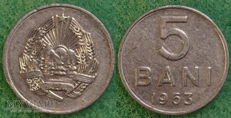 Rumunia, 5 Bani 1963