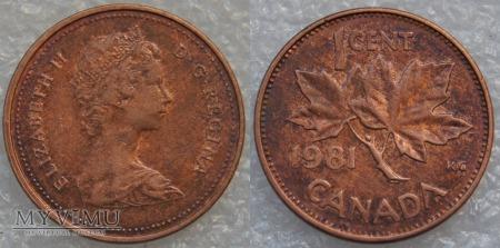 Kanada, 1 CENT 1981