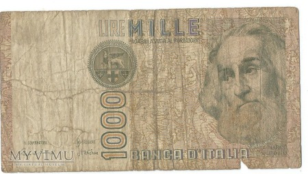 1000 Lire 1982