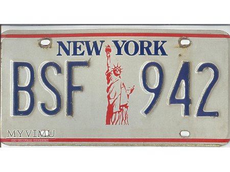 NEW YORK lata 80-te