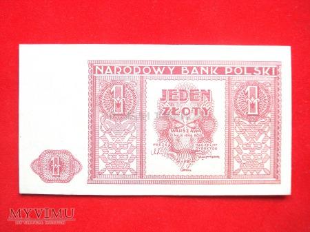 1 złoty 1946 rok