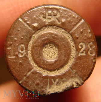 Łuska 7,92 x 57 mm Mauser JR 19 28 IX