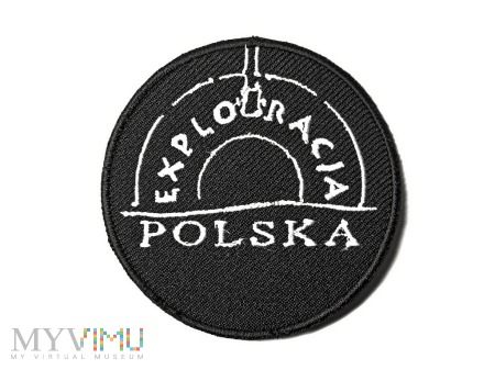 Naszywka Exploracja Polska