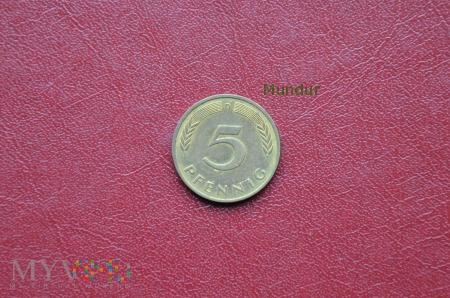 Moneta niemiecka: 5 pfennig