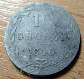 Duże zdjęcie 10 groszy 1840