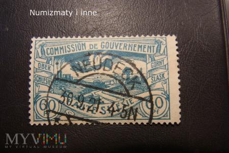 śląskie znaczki plebiscytowe za 60 fenigów