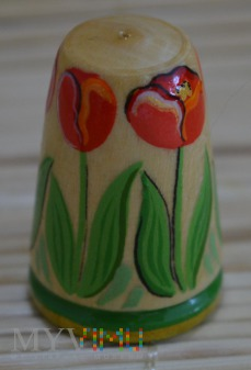 Naparstek z serii kwiaty/tulipan