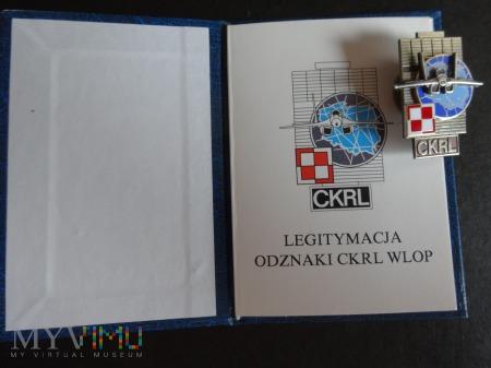 Duże zdjęcie Legitymacja +odznaka CKRL WLOP
