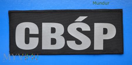 Emblemat odblaskowy CBŚP