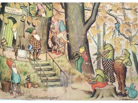 Skrzaty i Żaby Koncert leśny Fantasy Krasnale